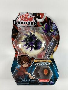Bakugan Battle Planet Brawlers Ultra Darkus Webam Collectible Figure Rare Sealed