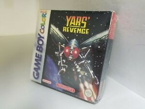 NEW TELEGAMES YAR'S REVENGE GAME W/CREASED BOX FOR NINTENDO GAME BOY COLOR  K37