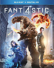 FANTASTIC 4 New Sealed Blu-ray NEW FREE SHIPPING!!!