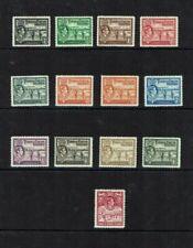 Turks & Caicos: 1938, King George VI defintive, short set to 2/-, Mint