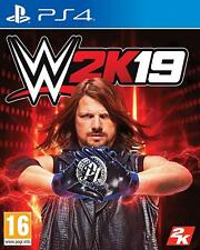WWE 2K19 PS4 NEW SEALED DISPATCHING TODAY ALL ORDERS PLACED BY 2 P.M.