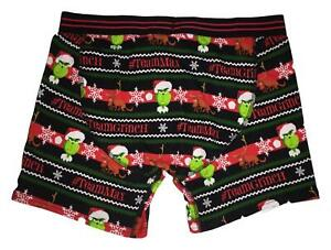 DR SEUSS THE GRINCH TEAM MAX FOREVER 21 CHRISTMAS BOXER BRIEFS UNDERWEAR NWT