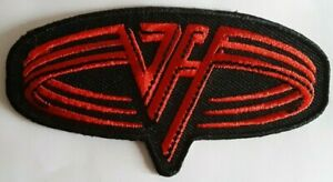 VAN HALEN - RED LOGO - IRON ON or SEW ON PATCH