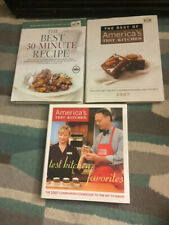 America's Test Kitchen: Lot of 3 - 2007 Best Of Desserts Favorites Very Good