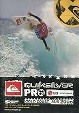QUIKSILVER PRO 2008 - DVD - Gold Cost SURFING CONTEST - TRACKS MAGAZINE