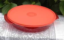 TUPPERWARE RED MICROWAVE TUPPERWAVE 1L CASSEROLE WITH SEAL