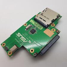 ASUS K50I K52J X5DIJ X5DC SD Card Reader HDD SATA Connector Board 69N0EJC10D03