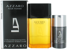 Pour Homme Travel Exclusive By Azzaro For Men Set: EDT + Deodorant Stick New
