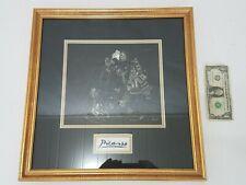 Picasso Erotic Print - Black & White w/ COA - Dated April 1968 - 1st Re-Print ??