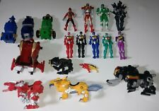 Power Rangers Action Figure Toy and Zord Lot