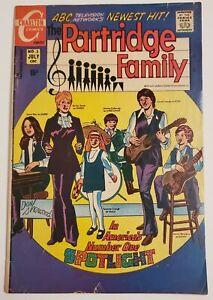 THE PARTRIDGE FAMILY NO. 3 - CHARLTON COMICS - JULY 1971