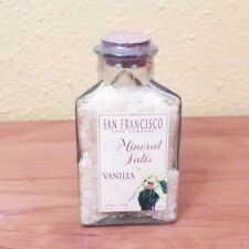 San Francisco Soap Company Mineral Salts Vanilla 3.75 oz. Sealed