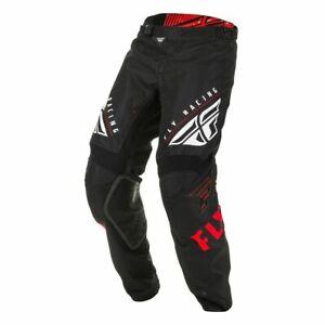 Motocross MX Trousers > Fly 2020 Kinetic K220 Du Pont - Black/Red/White