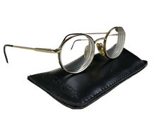 Unbranded 1400 Reading Glasses 47-19-135mm Gold/D. Purple Hong Kong Frame Unisex