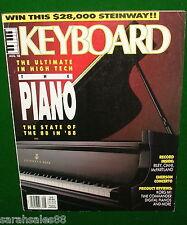 KEITH EMERSON CONCERTO, Korg M1 Rev'w, 1988 KEYBOARD Magazine w- Ciani Soundpage