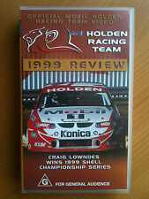 OFFICIAL MOBIL HOLDEN RACING TEAM ~1999 in REVIEW~ CRAIG LOWNDES WINS ~VHS VIDEO
