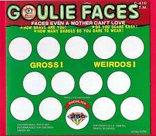 Old Goulie Faces Monsters Toy Vending Machine Sign