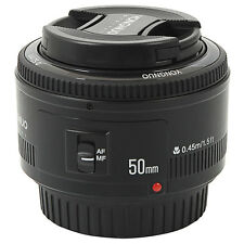 Yongnuo YN50mm F1.8 Large Aperture Auto Focus Lens for Canon EF Mount EOS Black