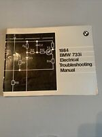 BMW 1984 733i Shop Electrical Troubleshooting Factory Manual Vintage OEM