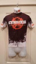 Sfatto Hombre MANGA CORTA Ciclismo Southern Cross Jersey Negro/Blanco/Rojo Xs