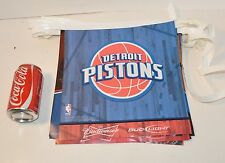 29' Budweiser Bud Light Beer Detroit Pistons Basketball String Flag Banner Sign