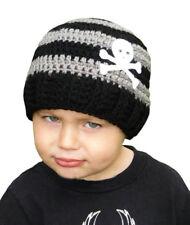 Crochet Crossbones Beanie Hat - X Small