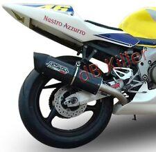 SILENCIEUX GPR FURORE LOOK CARBONE HONDA CBR 600 F / FS 2001/07