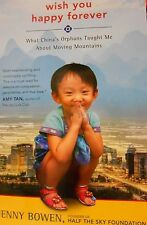 Wish You Happy Forever by Bowen of Half the Sky Foundation Book Club paperback