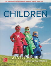 NEW 3 Days to US / CA Children 14E John W Santrock 14th Paperback Soft Edition