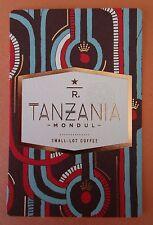 STARBUCKS 2015 - Series Reserve Tasting Card TANZANIA MONDUL - NEW