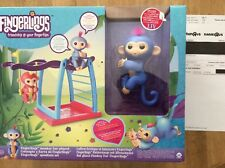 New WowWee Fingerlings Monkey Bar and Swing Playground Playset from Toys R Us