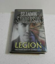 Legion:The Many Lives of Stephen Leeds/B. Sanderson, SIGNED by 2, 1st/1st, HC/DJ