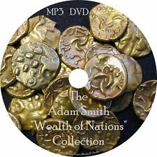 Adam Smith Economics Audiobook Collection in English on 1 MP3 DVD Free Shipping