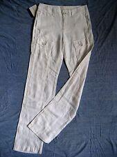 CALVIN KLEIN Damen Hose Pant W26/L32 normal waist regular fit straight leg linen