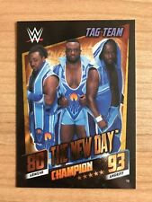 Slam Attax Then Now Forever Champion Karte The New Day WWE #10 Tag Team Topps