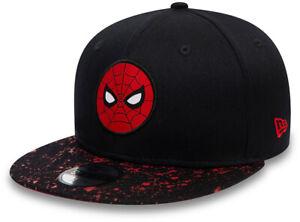 Spiderman New Era 950 Kids Paint Splat Visor Snapback Cap (Age 4 -10 years)