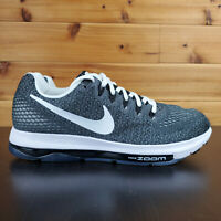 Nike Zoom All Out Running Sneakers Black / White 889123-001 Men's Size 7