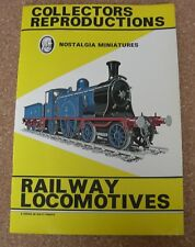 COLLECTORS REPRODUCTIONS - RAILWAY LOCOMOTIVES. REVISED Ed 1977. COMPLETE SET.