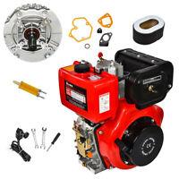 411cc 10 PS Dieselmotor 4-Takt Einzylinder 72,2 mm Wellenlänge HR186FA