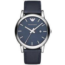 d08eaecf87c Emporio armani reloj ar1731 unisexuhr azul negro de cuero Men Lady Watch  nuevo   OVP
