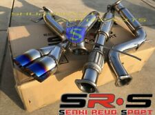 """SRS TYPE-R1 CATBACK EXHAUST SYSTEM FOR 13 - 17 FORD FOCUS ST 2.0L TURBO 3"""" BURN"""