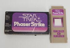 Working 1979 Milton Bradley Microvision Phaser Strike Cartridge with Box R8440