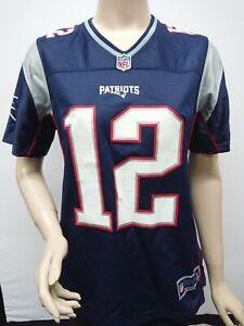 NWOT NFL New England Patriots Tom Brady 12 Women's Size M Replica Jersey ProLine