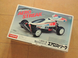 1/10 AERO STREAK 4WD EC POWERED RACING BUGGY RC KIT FACTORY ASSEMBLED NEVER USED