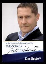 Udo Schenk In aller Freundschaft Autogrammkarte Original  Signiert ## BC 39742