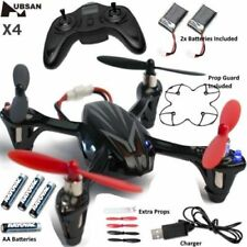 Drones sin cámara (cuadcópteros y multicópteros) negros Hubsan