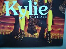 KYLIE MINOGUE SIGNED Golden Clear Vinyl LP RARE