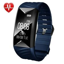 Fitness Tracker Bluetooth Hr Monitor Activity Watch Wristband Fit Bit Bracelet
