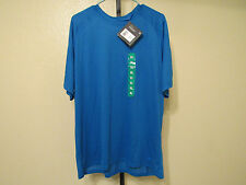 Nwt Fila PerformaDri Mens S/S Crew Neck-Blue-Xl