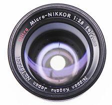 Nippon Kogaku Ultra-Micro-Nikkor 105mm f2.8    #182551 ......... Very Rare !!